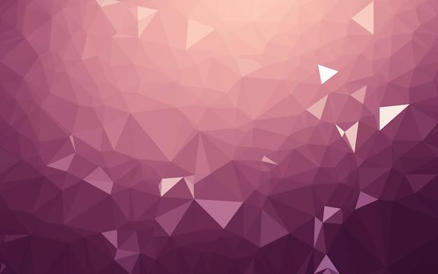 Fondo abstracto poli baja, triángulo geometría
