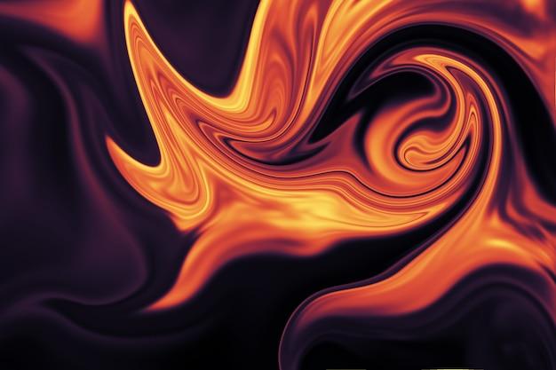 Fondo abstracto de revestimiento líquido colorido. textura abstracta de acrílico líquido.