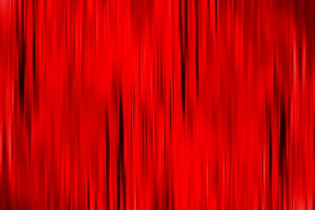 Fondo abstracto rojo con líneas negras de desenfoque de movimiento vertical. telón de fondo de cortina roja con textura