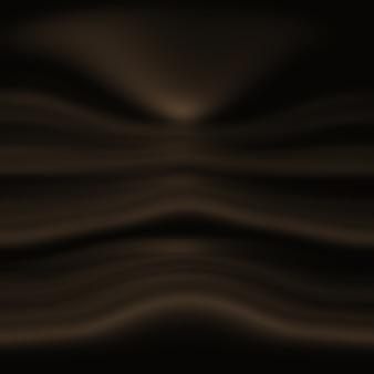 Fondo abstracto de telón de fondo degradado marrón suave y liso.