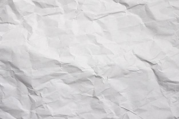 Fondo abstracto de la textura del libro blanco arrugado