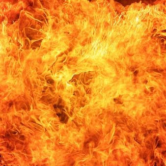 Fondo abstracto de la textura de la llama del fuego del resplandor
