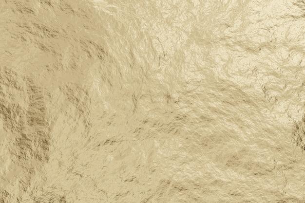 Fondo abstracto de textura de metal de oro ligero realista.