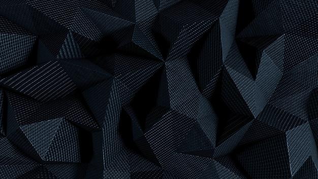Fondo abstracto con textura de tela negra