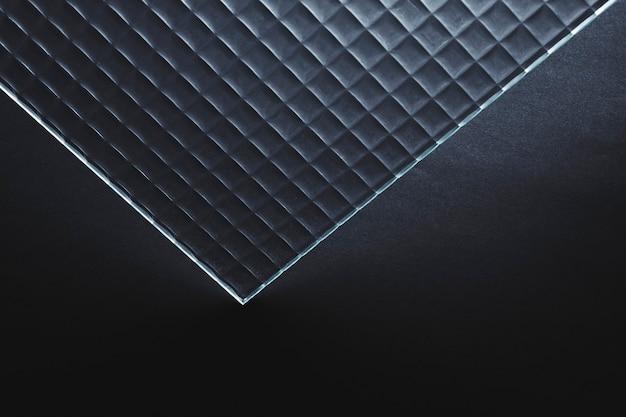 Fondo abstracto con textura de vidrio estampado