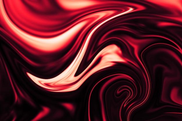 Fondo abstracto del trazador de líneas líquido colorido. textura abstracta de acrílico líquido.