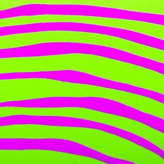 Fondo ácido de cebra. arte de colores mínimos