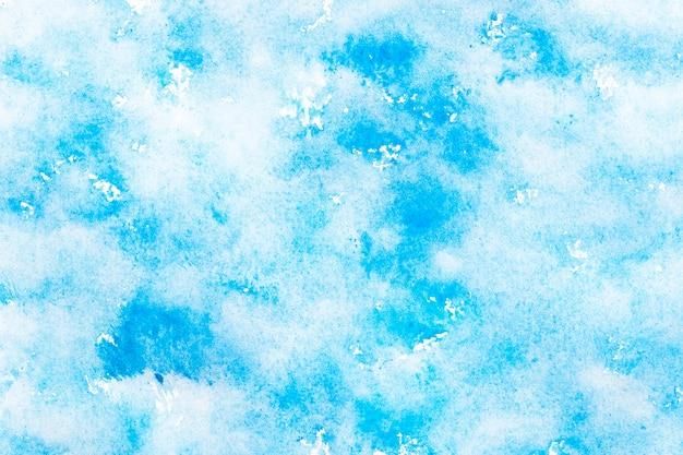 Fondo acuarela azul difuso