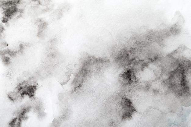 Fondo de acuarela gris. pintado a mano con pincel