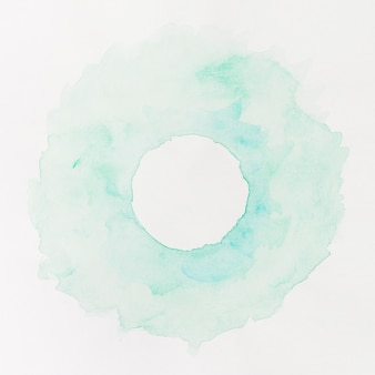 Fondo acuarela pastel círculo azul