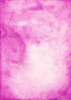 Fondo de acuarela rosa brillante con espacio para texto. manchas de textura de acuarela fucsia sobre papel. pintado a mano