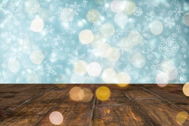 Fondo adorable resplandeciente con estilo navideño
