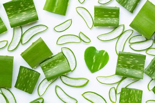 Fondo de aloe vera, el aloe vera es una planta medicinal popular para
