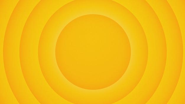 Fondo amarillo de dibujos animados