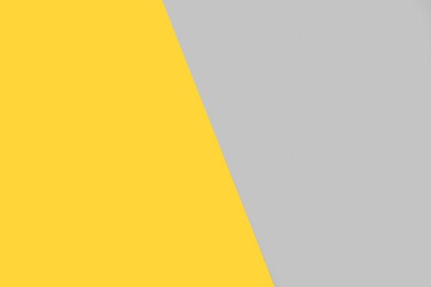 Fondo amarillo y gris con espacio de copia