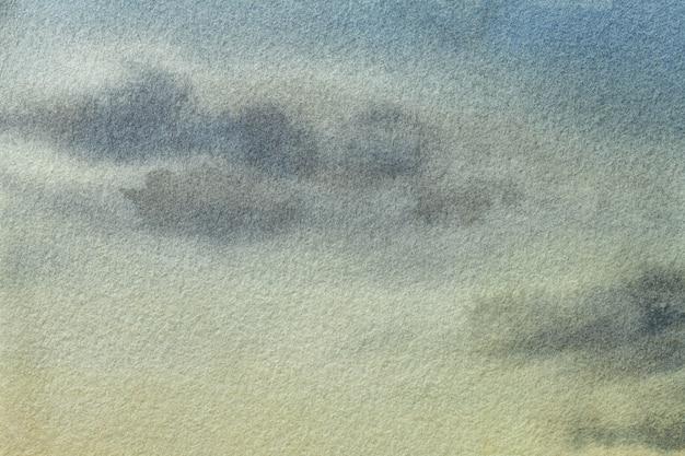 Fondo de arte abstracto azul claro y colores verdes