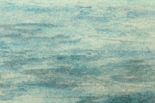 Fondo de arte abstracto colores turquesa claro.