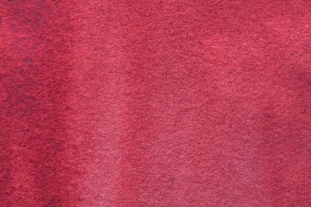 Fondo del arte abstracto rojo oscuro y colores del vino. acuarela sobre lienzo.