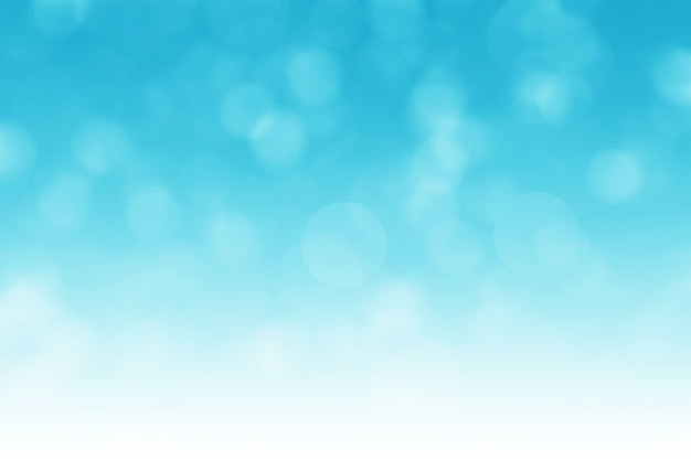 Fondo azul abstracto del bokeh