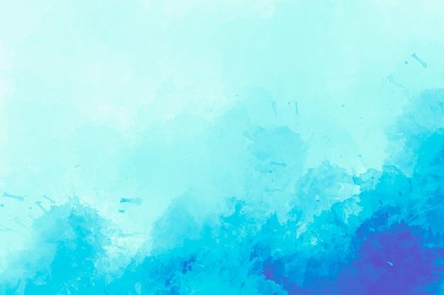 Fondo azul de la acuarela dibujo digital