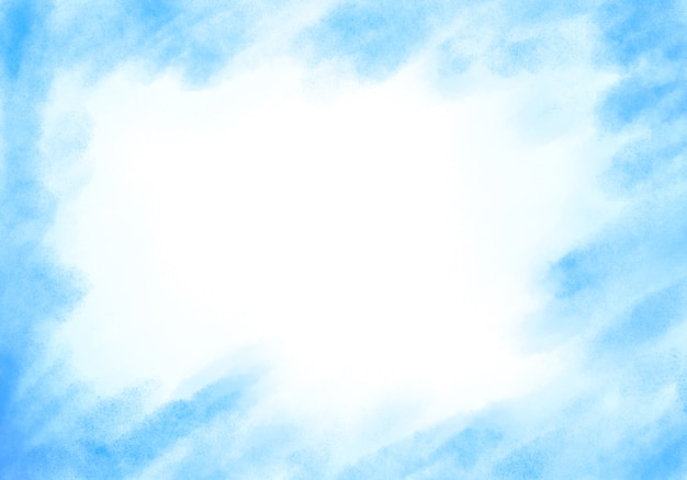 Fondo azul acuarela