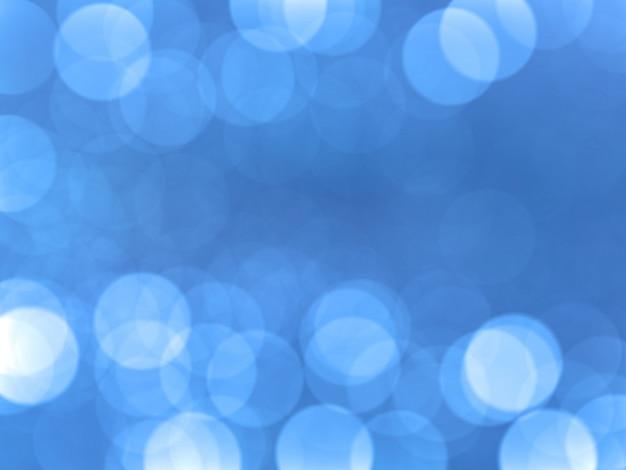 Fondo azul bokeh