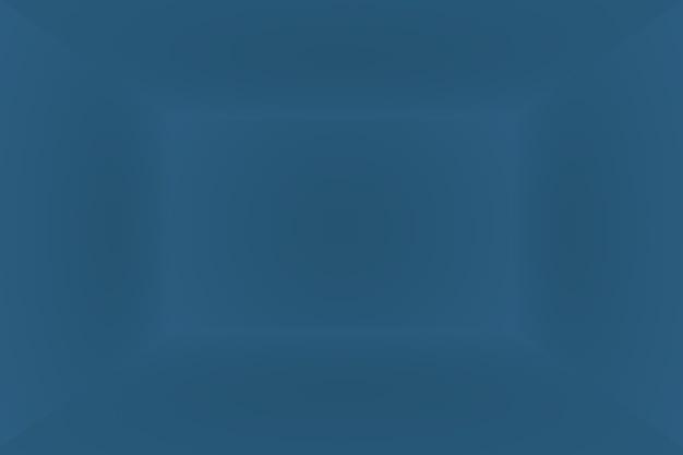 Fondo azul degradado de lujo abstracto. azul oscuro liso con banner de estudio de viñeta negra. sala de estudio 3d.