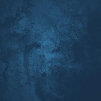 Fondo azul del grunge, textura vieja del papel pintado