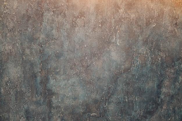 Fondo azul marino oscuro abstracto del grunge, pared texturizada.