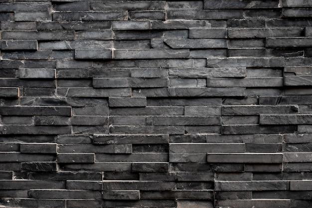 Fondo de azulejo cuadrado rectángulo negro