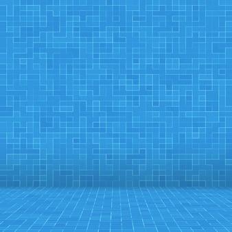 Fondo de azulejo de mosaico de piscina de textura.