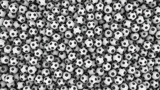 Fondo de balón de fútbol de fútbol