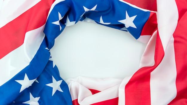Fondo de la bandera americana