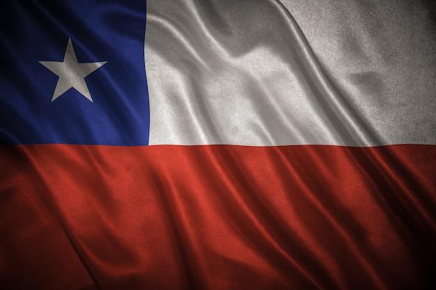 Fondo de bandera de chile