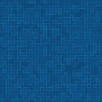 Fondo de la bandera del papel pintado del fondo del azulejo de mosaico de la piscina de la textura