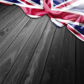 Fondo de bandera de united kingdom