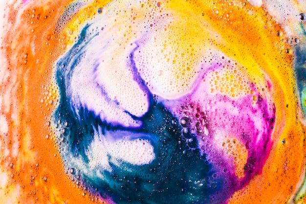 Fondo de baño de burbujas cuidado de cuerpo de baño de burbujas