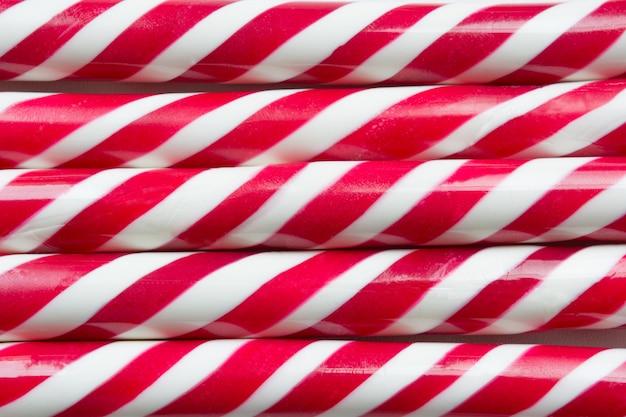 Fondo de bastón de caramelo de navidad