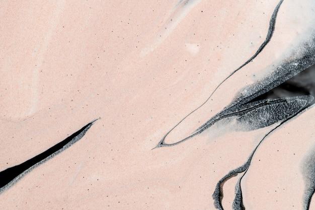 Fondo beige de mármol líquido abstracto arte experimental hecho a mano
