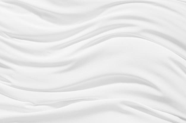 Fondo blanco abstracto de la textura del paño de la tela