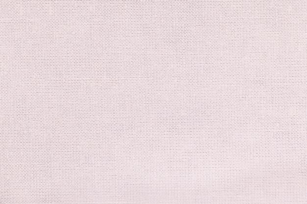 Fondo blanco de un material textil con patrón de mimbre