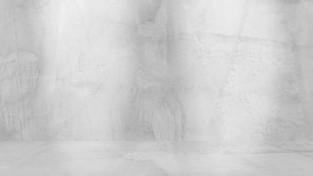 Fondo blanco sucio de cemento natural o textura antigua de piedra como una pared retro. , grunge, material o construcción.
