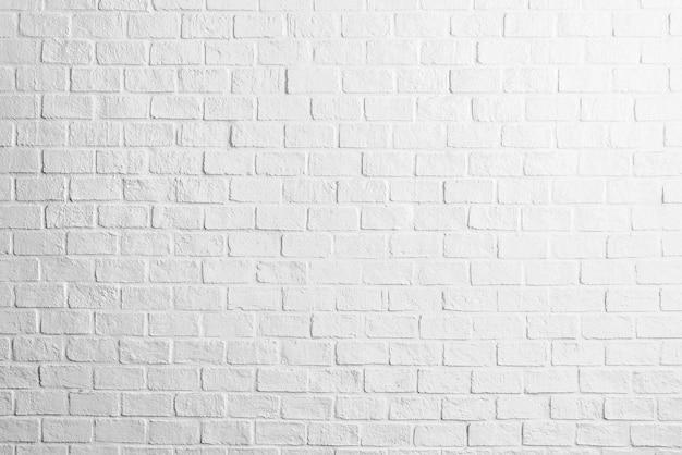 Fondo blanco de las texturas de la pared de ladrillo