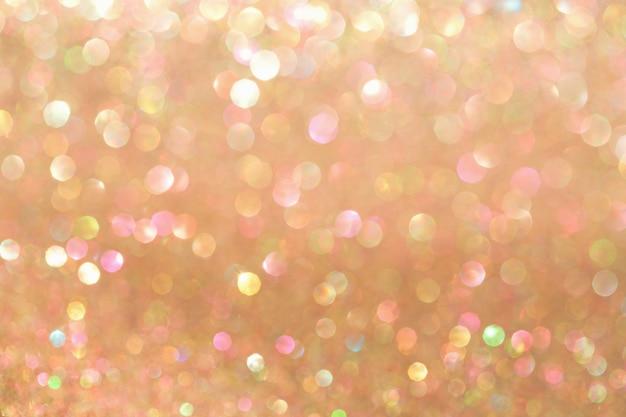 Fondo del bokeh de la vainilla, abstracto con las luces defocused.
