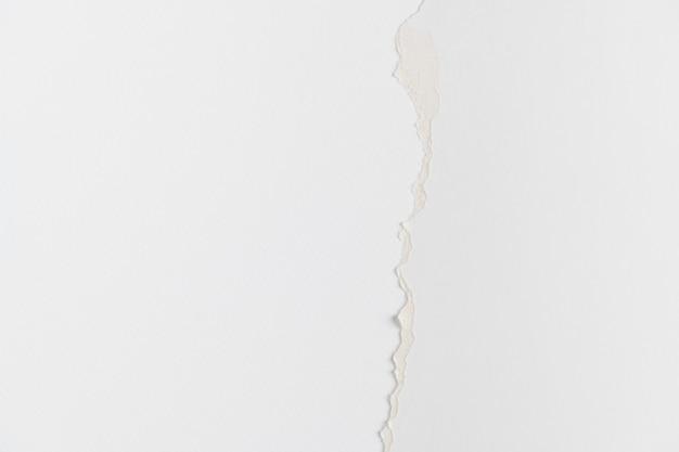 Fondo de bricolaje de borde de papel blanco rasgado