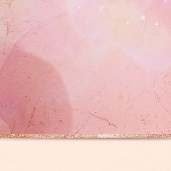 Fondo brillante dorado mármol rosa estético