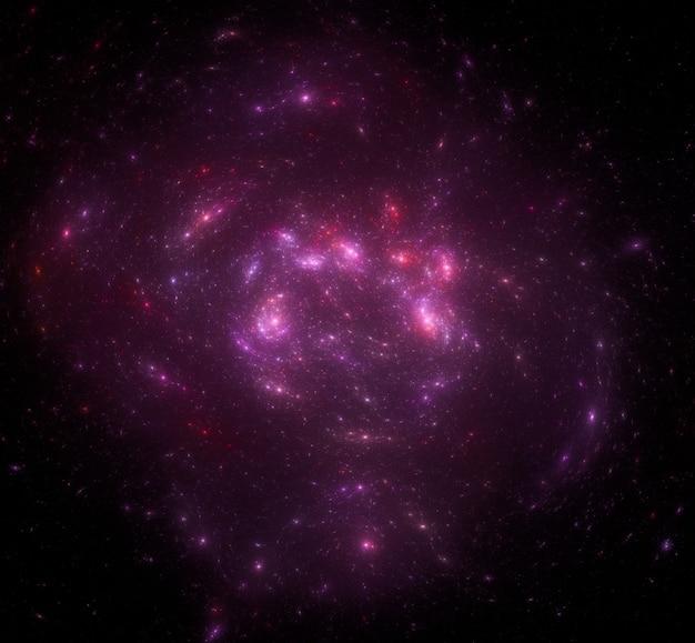 Fondo de campo de estrellas. fondo estrellado del espacio exterior