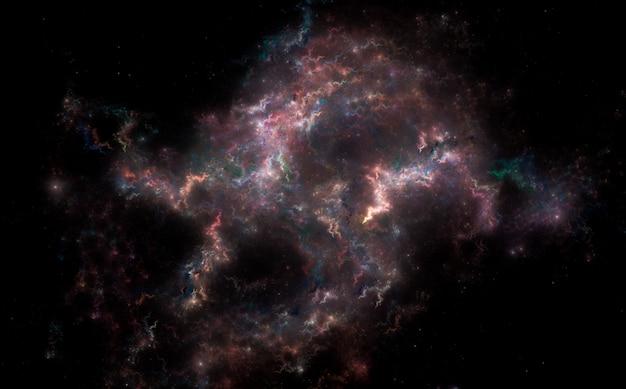 Fondo del campo de estrellas
