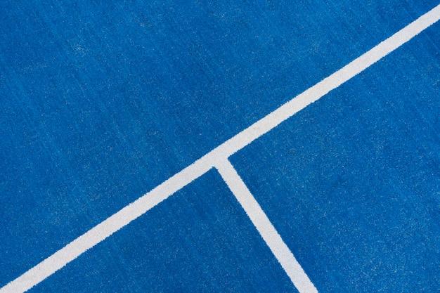 Fondo de cancha de deporte azul