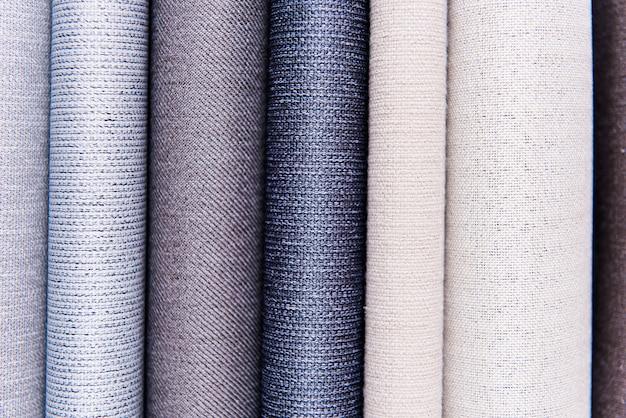 Fondo de capas de tela con textura